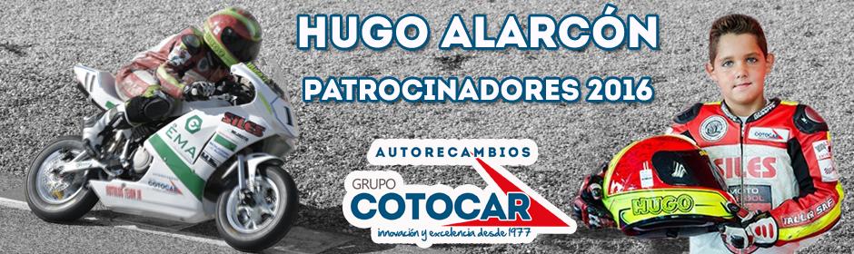 Hugo Alarcón Patrocinadores